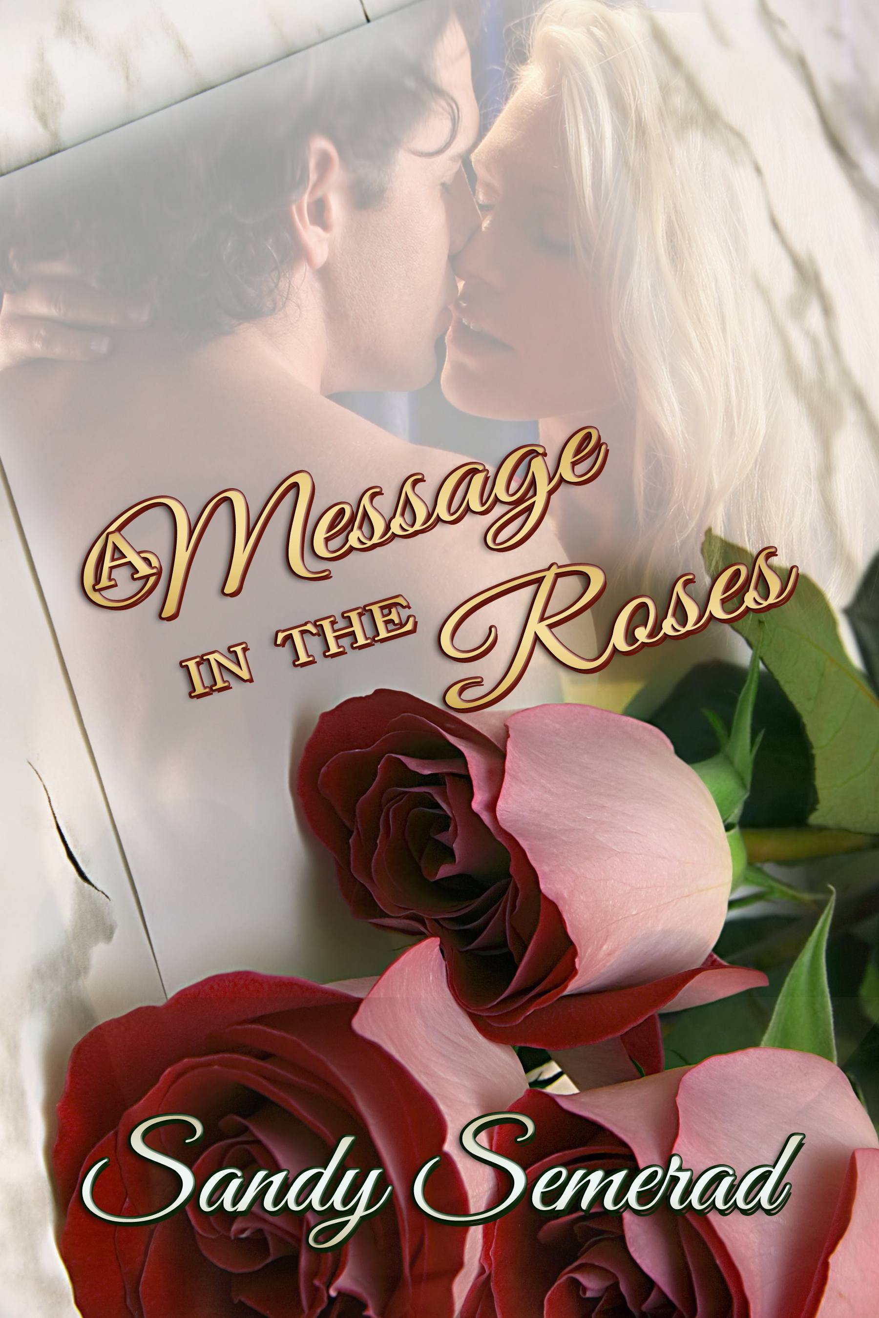 the message in the roses book cover